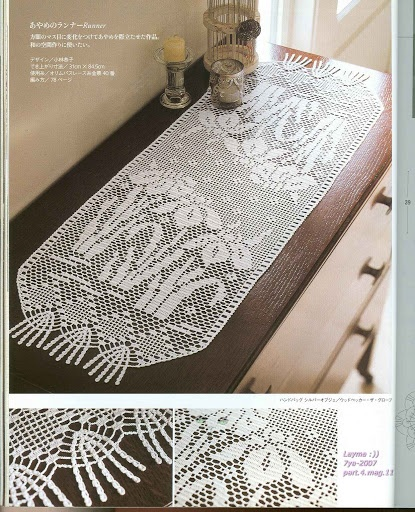 Ondori Classic Crochet Lace - Filet Crochet