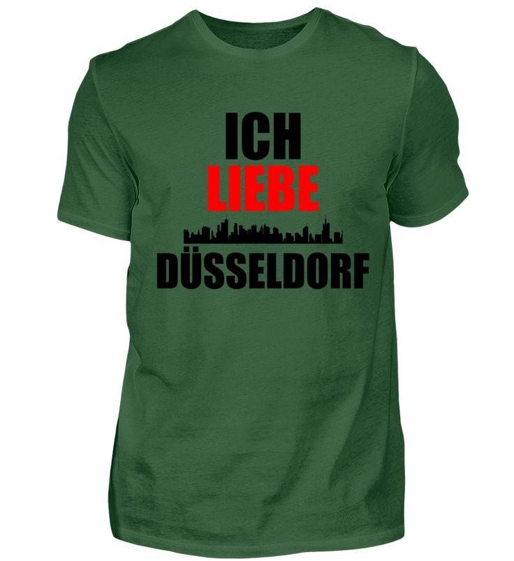 Meine Stadt T-Shirt ich liebe Düsseldorf T-Shirt