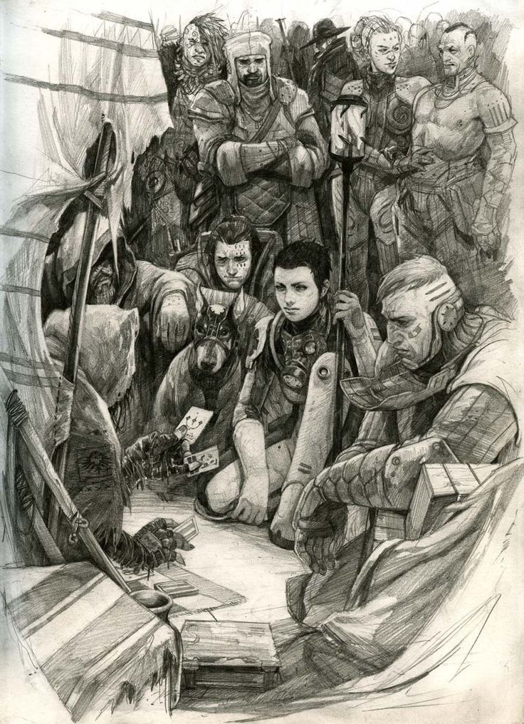 Great Sketches...Follow Ross MacKay