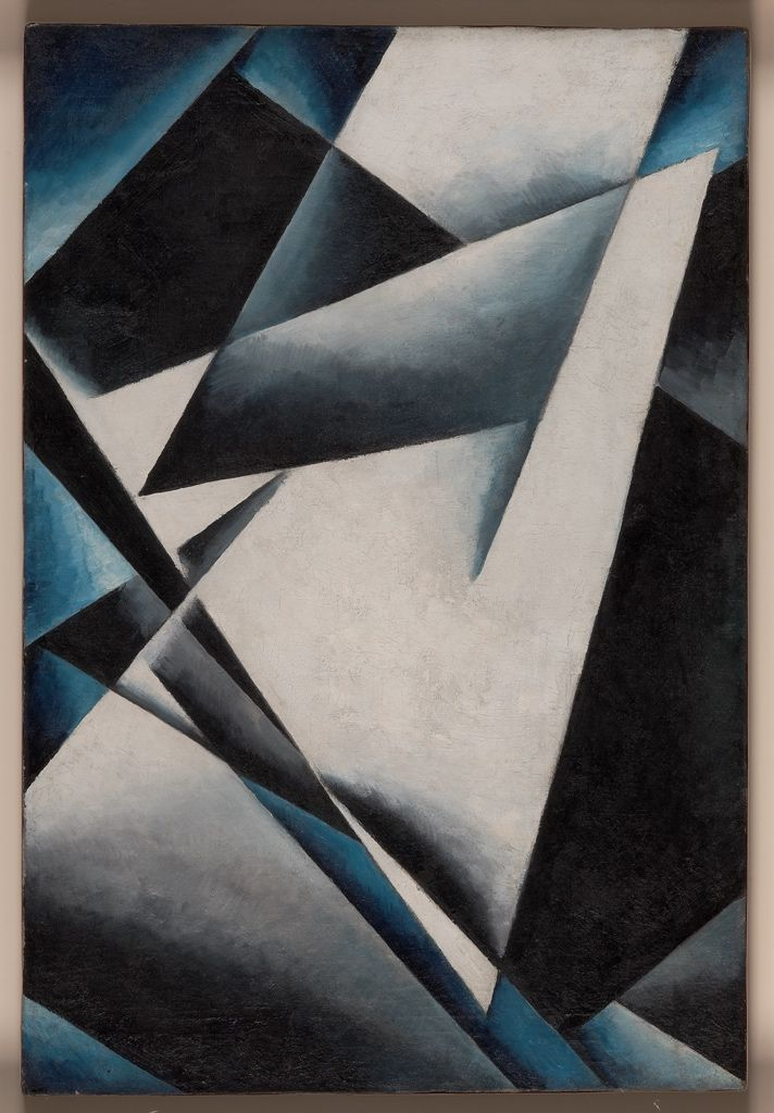 "amare-habeo: ""  Lyubov Popova (Russian, 1889 – 1924) Painterly Architectonics, 1918-19 Oil on canvas 73,1 x 48,1 cm """