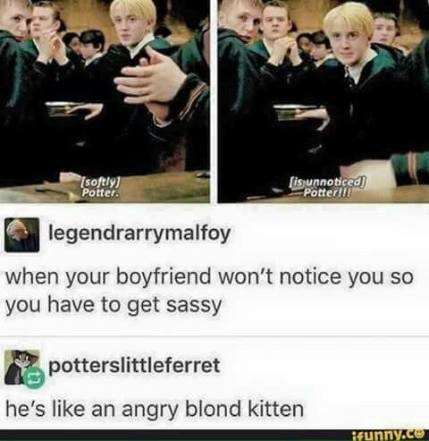 Malfoy x Potter