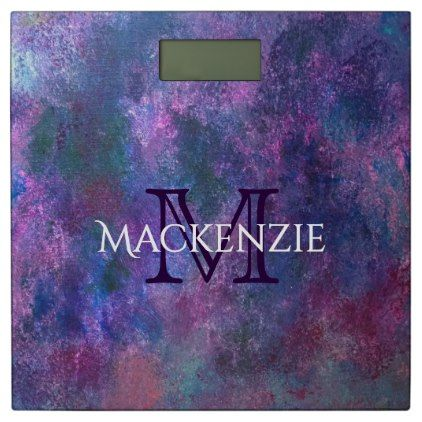 Explosive Bath | Custom Purple Pink Green Blue | Bathroom Scale - girly gift gifts ideas cyo diy special unique