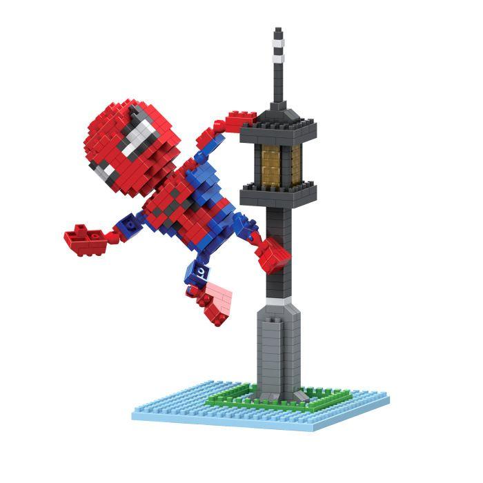BOB Blocks Spider Man 9524