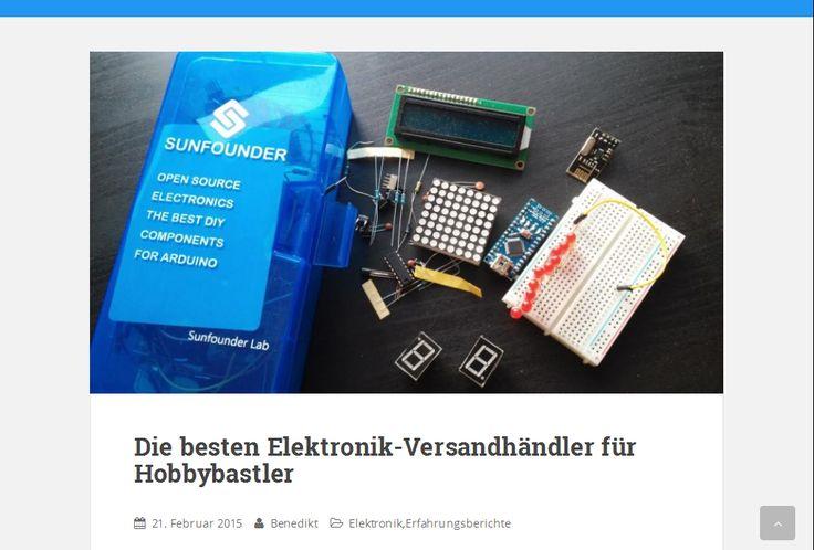 Die besten Elektronik-Versandhändler für Hobbybastler
