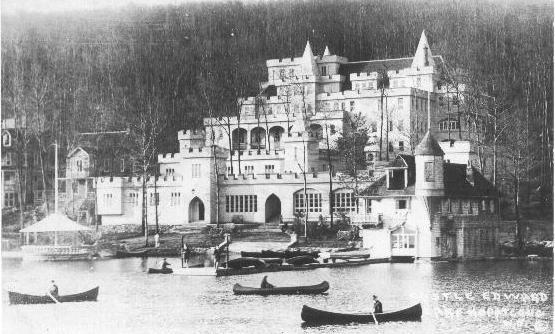 Castle Edward Hotel, Lake Hopatcong, NJ, c.1913