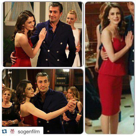 Ini dia kemesraan Dilara dan Cihan saat adegan dansa © Instagram.com/ebruozkanfan
