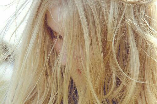 Immagine di girl, hair, and blonde