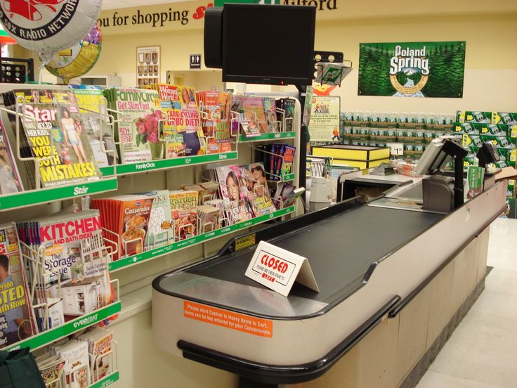 Check out son muebles específicos que se ubican en la zona de caja y en ellos suele haber productos de compra impulsiva.