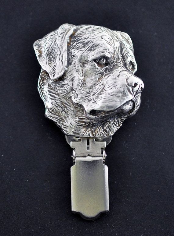 Rotweiler dog clipring dog show ring by ArtDogshopcenter on Etsy