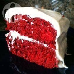 De roodste red velvet cake @ allrecipes.nl