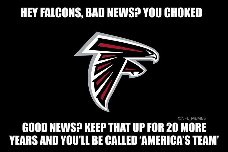 Look on the bright side #falcons.  #atlantafalcons #atlfalcons #nflmemes #lol #Sportshumor #funny #hilarious #dallascowboys #cowboys #cowgirls