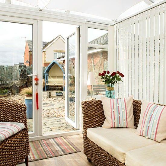 Modern Conservatory | Modern beach-inspired conservatory | Conservatory decorating | Ideal ...