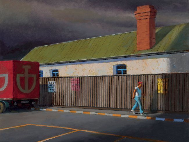 Jeffrey Smart | The paintings of Jeffrey Smart | The Australian