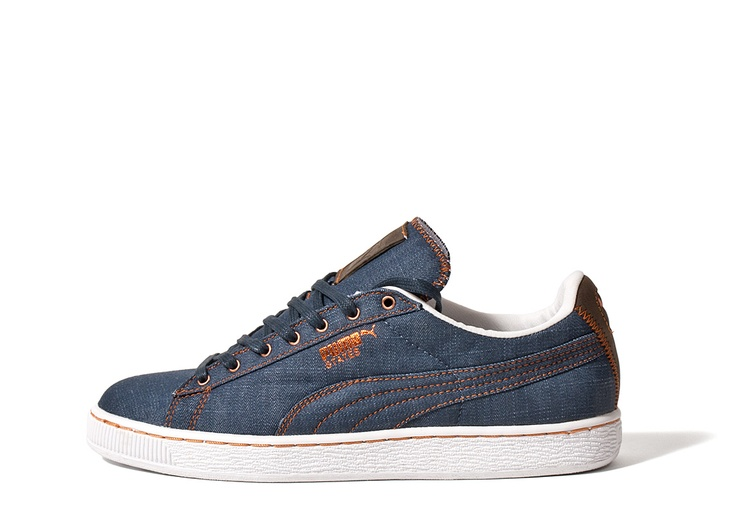 The Chimp Store - Puma States Denim Pack Shoes - Navy/Brown/White via @TheChimpStore