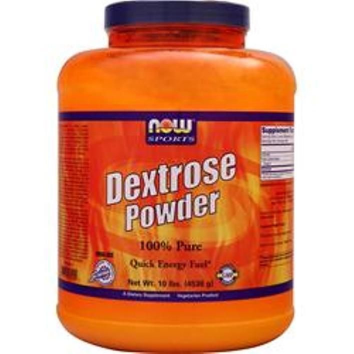 NOW Dextrose Powder to add carbs to protein shakes-1-2-3 or 5 x 5 or x 2 lbs  #NOW