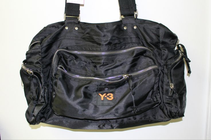 Y3 (Y. Yamamoto) for Adidas gym bag. Now that's a better reason to hit the treadmill in 2014!