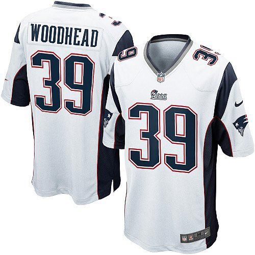 New Men's White NIKE Game New England Patriots #39 Danny Woodhead NFL Jersey | All Size Free Shipping. Size S, M,L, 2X, 3X, 4X, 5X. Our massive selection of Men's White NIKE Game New England Patriots #39 Danny Woodhead NFL Jersey coupled with our competitive prices, fast shipping and friendly service for nike jerseys is why we are the largest fan shop online.$79.99