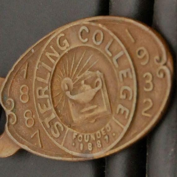 Antique Key  Watch  Fob from Sterling College by Zoftigdoll, $35.00
