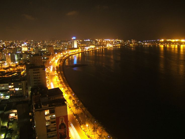 Maputo at night