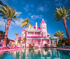 Mansion Houses With Pools 20 best pink mansions (my daughters wish) images on pinterest