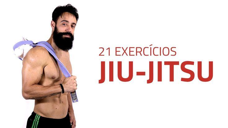 21 Exercícios de Preparação para o Jiu-Jitsu | Sérgio Bertoluci - X21
