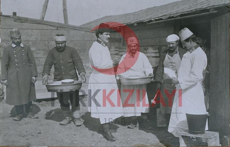 1915 Hadımköy Hastanesi Yemek Tevzi