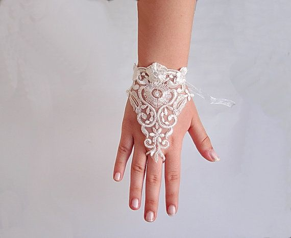 Hey, I found this really awesome Etsy listing at http://www.etsy.com/listing/153307182/victorian-lace-bridal-gloves-ivory