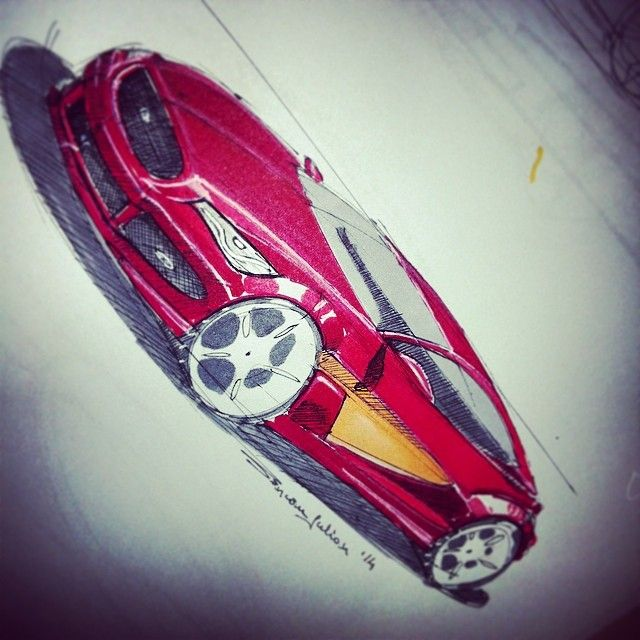 Hyundai Coupe Concept designed by me