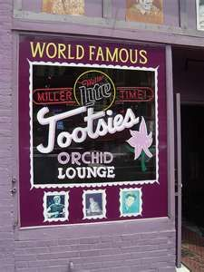 "#onlyinnashville can you see some of the up and coming stars perform at the world famous tootsies. Tootsies has been known to be a very popular place to be ""discovered"" in the music scene. Fun fact: Toby Keith's hit song ""I Love this Bar"" was written about Tootsies."