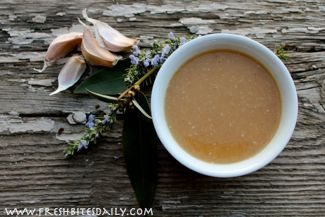 Garlic and Onion Soup for Colds and Flu