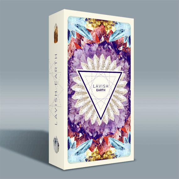 Pre-order for Lavish Earth Crystal Affirmation Cards