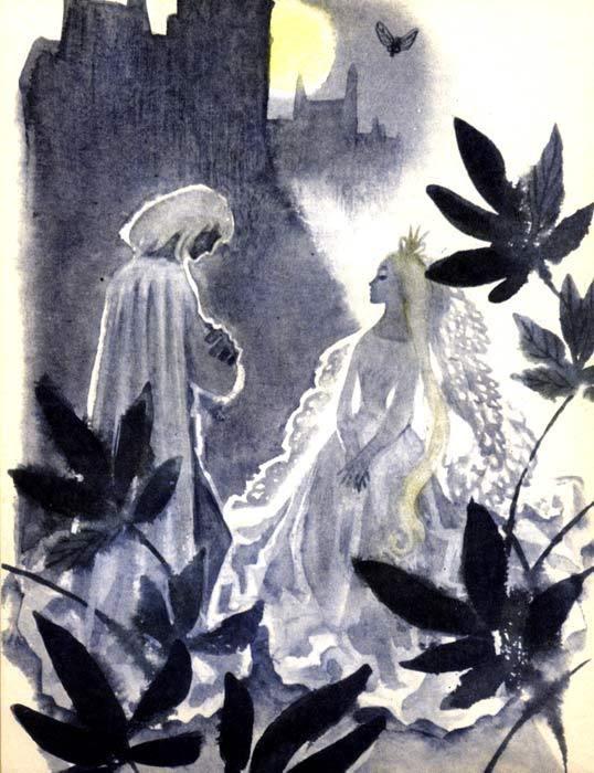 """Ника Гольц: """"Человек-горошина и Простак"""", 1973."""