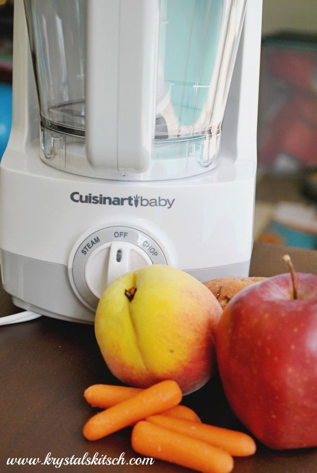 Simple Baby Food & Smoothies with Cuisinart Baby Food Maker... Go to the recipe part of the Cuisinart website