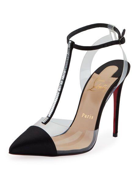 b90e96019 Christian Louboutin Nosy Strass Red Sole Pumps in 2019 | Shoes | Shoes,  Christian louboutin, Red sole