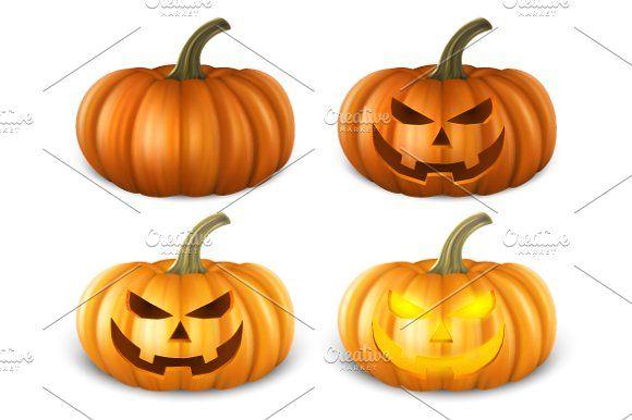 Vector pumpkin.  by gomolach on @creativemarket