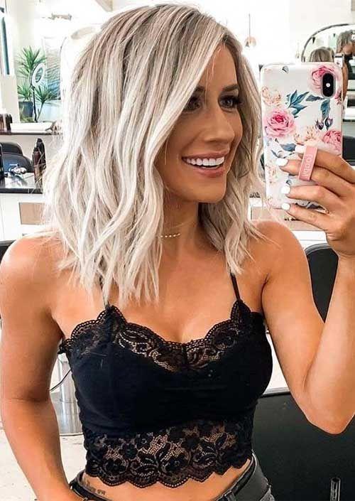 15+ dernières coiffures courtes à moyennes 2020 # short # de cheveux courts # de cheveux courts Fraîcheur …   – Kurze Frisuren