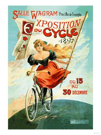 AFFICHES ANCIENNES SUR LA BICYCLETTE ET LE CYCLISME