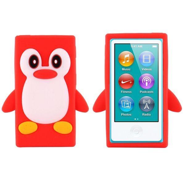 Happy Penguin (Rød) iPod Nano 7 Deksler