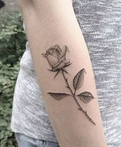 #tattoofriday - Jabuk Nowicz: tatuagens minimalistas, linhas finas e pontilhismo - rosa;