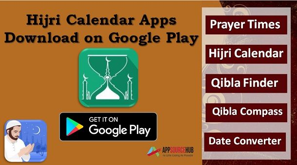 Hijri Calendar Apps - Download on Google Play #IslamicPrayerTimesApp
