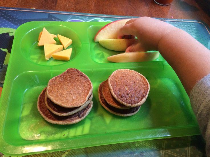 Pancakes de banana #Nohuevo #Noharina #avena #oatmeal #oats #Dairyfree #Eggless Desayuno saludable #Panquequesplatano #bananapancakes