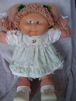 Cabbage Patch Kid.  Dad waited in line for mine