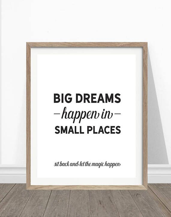 Funny Bathroom Quotes Funny Bathroom Art, Big Dreams Happen In Small Places, Bathroom  Funny Bathroom Quotes