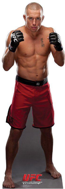 George St. Pierre - UFC Lifesize Standup