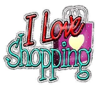 Felicidad total ir de compras