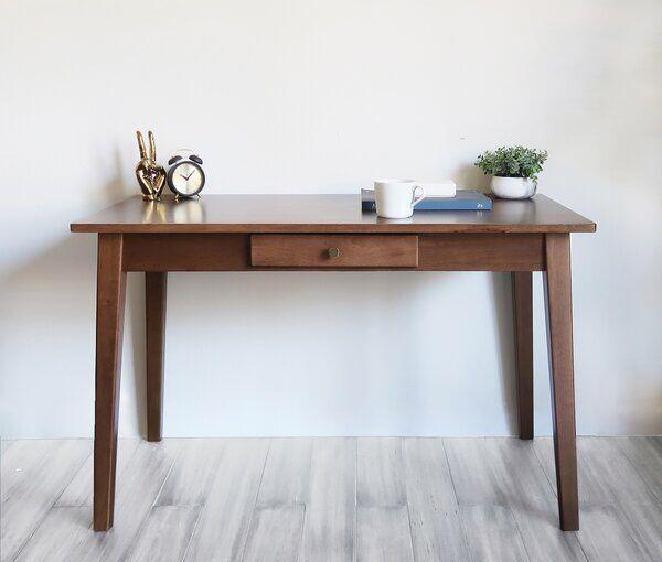 Modbury Desk In 2020 Wood Writing Desk Writing Desk With Drawers Acacia Wood Desk