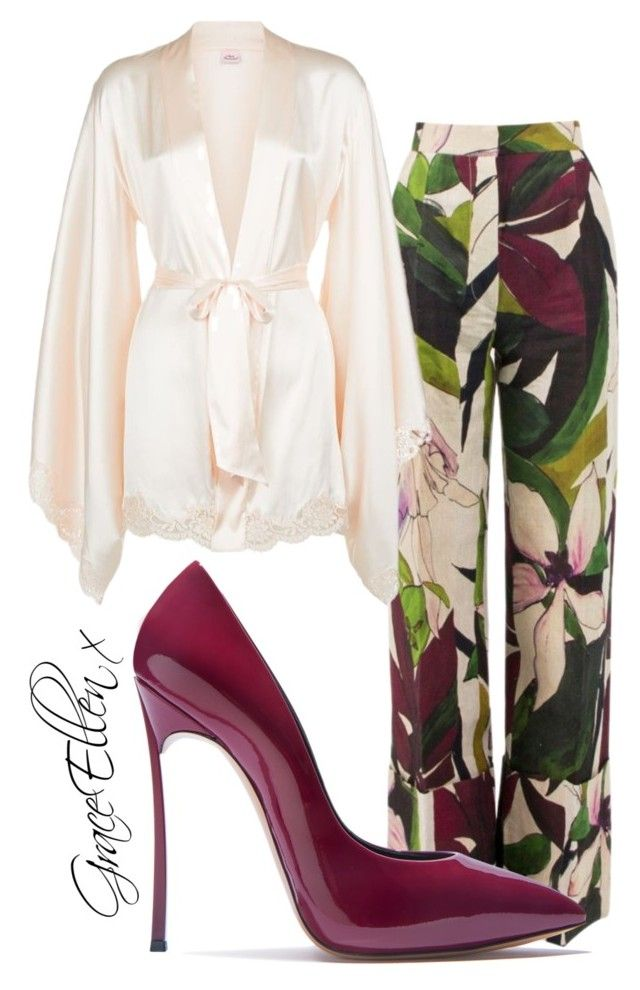 Untitled #99 by miss-grace-ellen on Polyvore featuring polyvore fashion style Agent Provocateur Erika Cavallini Semi-Couture Casadei clothing