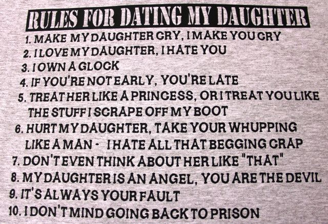 daddys rules for dating application