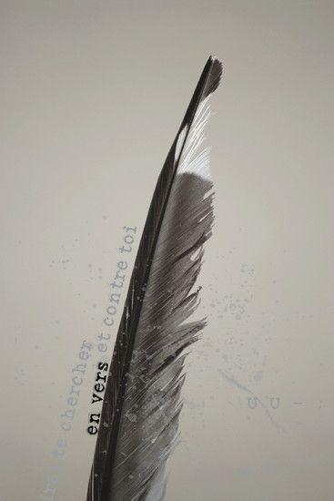 """Série """"Tu seras où..."""" - Triptyque 3 N°2 - ( U U - ) : anapeste du nom grec anapaistos qui signifie renversé; Photographie - Photo'graphisme"""