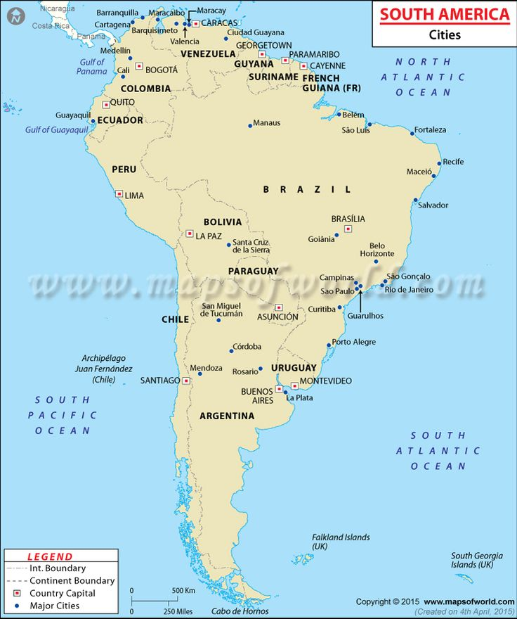 Places To Visit In Your 20s In America: Best 20+ South America Map Ideas On Pinterest